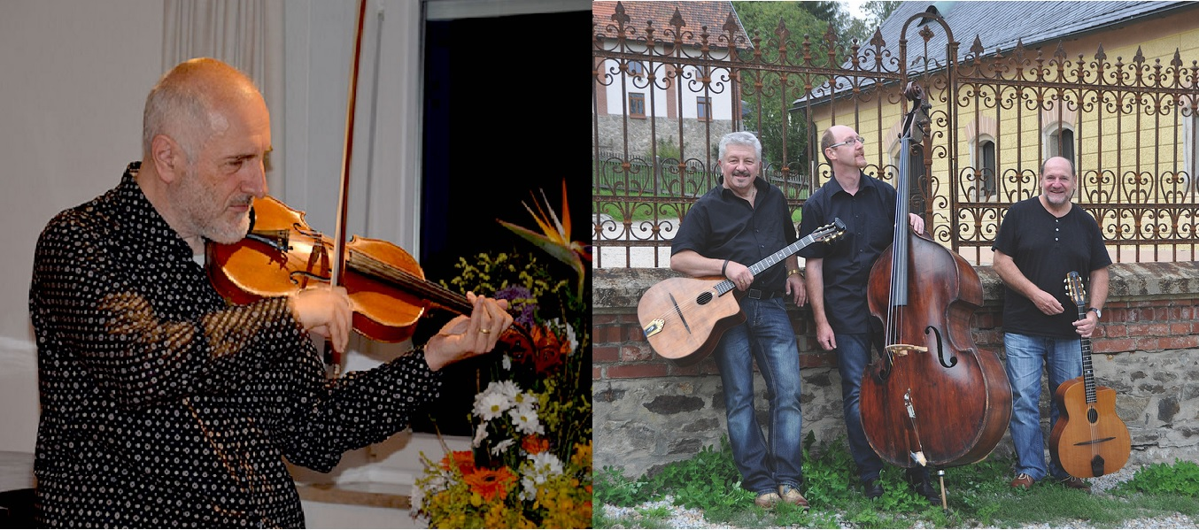 Swing Guitars - feat. Marcus Woelfle (Geige)